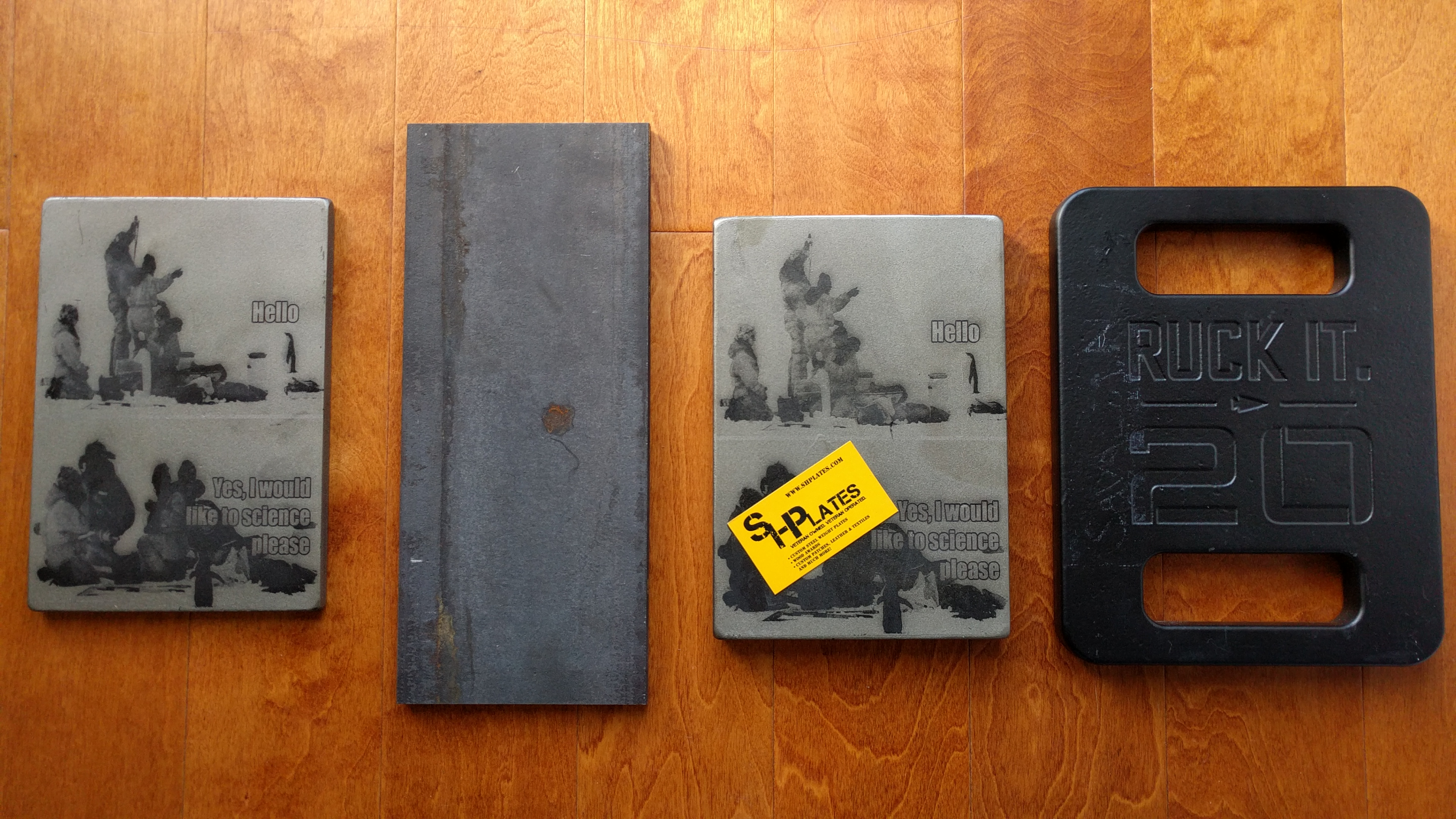 Ruck Plates Comparison Goruck Shplates And Diying
